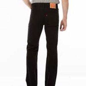 Levis Mens 516 slim straight fit